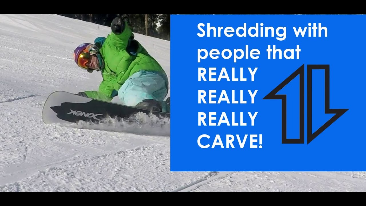 Snowboarding With Guys That Really Carve Youtube