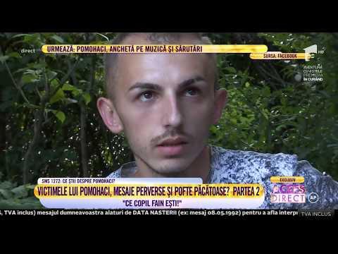 Victimele lui Pomohaci, noi dovezi. De o la cerere de prietenie, până la propuneri indecente