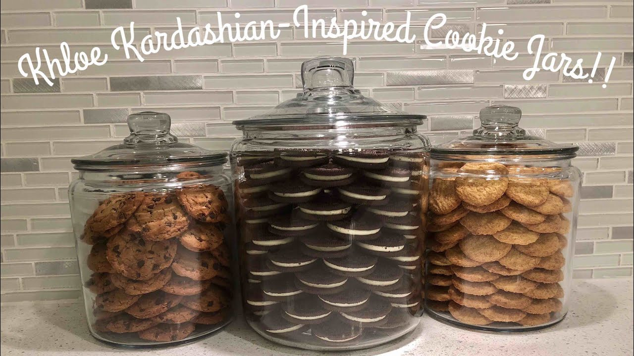 Diy Khloe Kardashian Inspired Cookie Jars Youtube