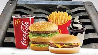 Shredding The McDonalds Menu In A Shredder (Disgusting!)   Shredding Stuff