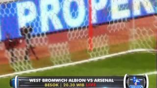 Barclays Premier League : West Bromwich Albion vs Arsenal di @Globaltvseru