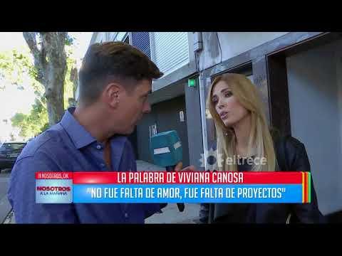 Viviana Canosa y su divorcio: No fue falta de amor, fue falta de proyectos