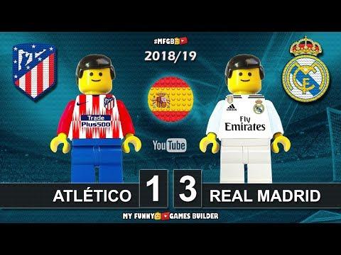 Atlético Madrid vs Real Madrid 1-3 • LaLiga 2019 (09/02/2019) All Goal Highlights Lego Football Mp3