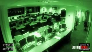 Fenomenos poltergeist en una oficina a las 3 de la mañana