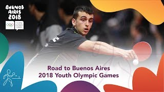 Road To Buenos Aires 2018 Youth Olympic Games