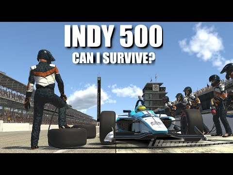 iRacing | INDY 500 @ INDIANAPOLIS | HOW MANY OF THE 200 LAPS WILL I MANAGE...