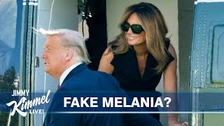 Trump Votes, Fake Melania & Barrett Confirmation
