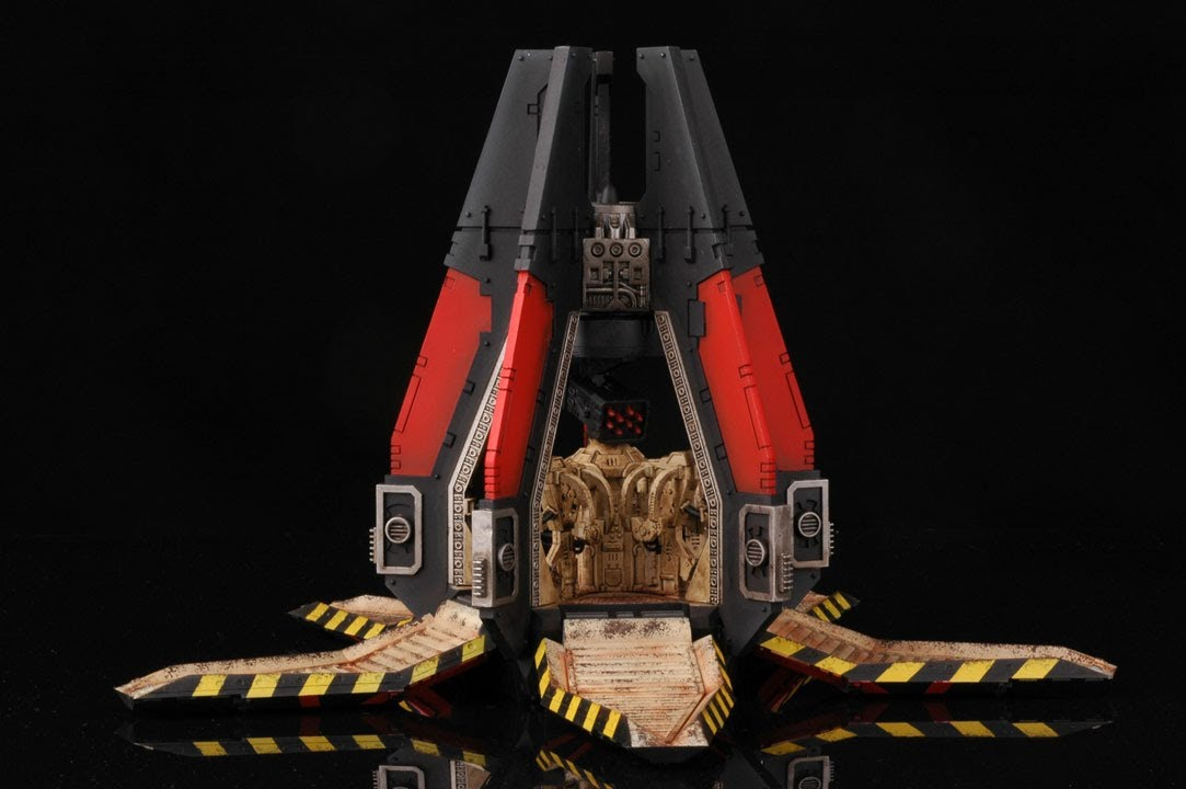 How to paint death company drop pod blood angels warhammer 40000 40k