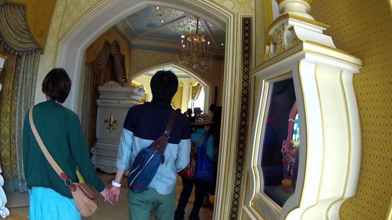 Cinderella S Fairy Tale Hall Inside Cinderella Castle At Tokyo