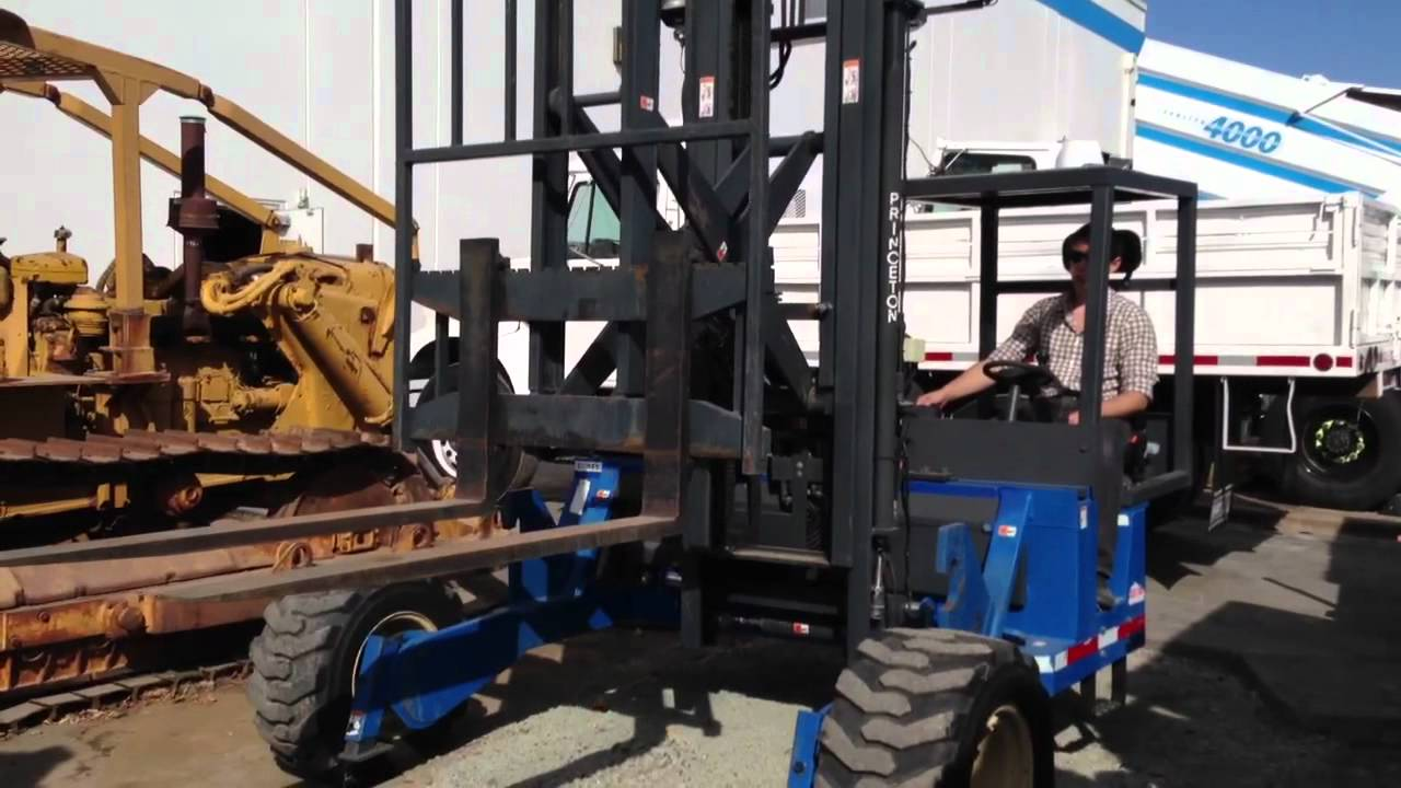 teledyne sr   piggy  forklift  sale youtube