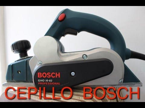 CEPILLO PARA MADERA BOSCH - YouTube a7626df5a22f