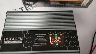 Prezentacja przetwornicy do systemów fotowoltaicznych HEX-2000PRO Solar