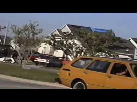 Kissimmee Tornado outbreak Feb 23 1998 ARCHIVE FOOTAGE