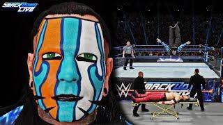 Jeff Hardy Smackdown Live 7/10/2018 FACE PAINT MOD! (WWE 2K18 PC feat. Shinsuke Nakamura)