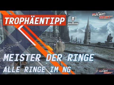 Dark Souls 3 - Erfolg/Trophäe - Meister der Ringe - Alle Ringe im NG [German/Deutsch]