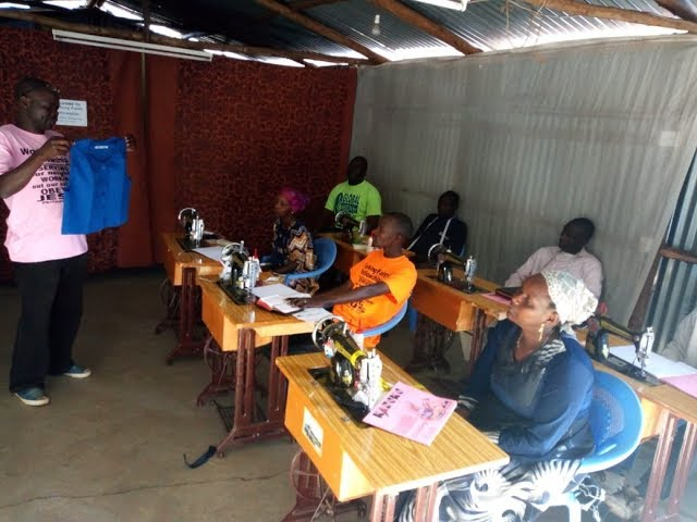 The 3rd & 4th Days of the GMFC/WFF Tailoring & Dressmaking Training Kibera Kenya
