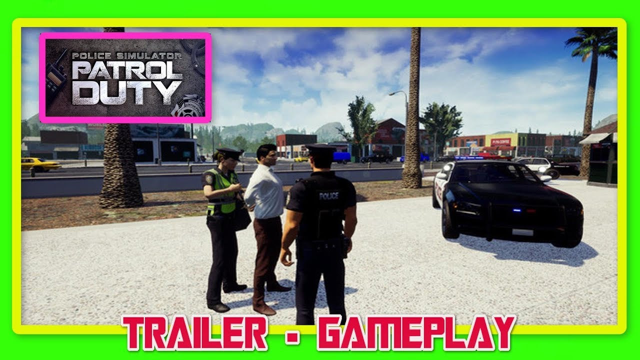 SIMULADOR DE POLICIAS MULTIPLAYER 👉 Police Simulator: Patrol Duty 👈 18  JUNIO | TRAILER GAMEPLAY
