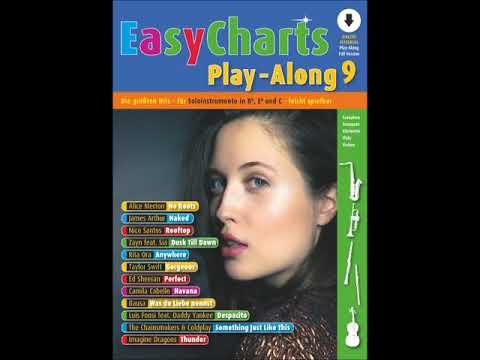 Easy Charts Play-Along 9 - Track 3 - Dusk Till Dawn - Zayn Feat Sia - FULL VERSION
