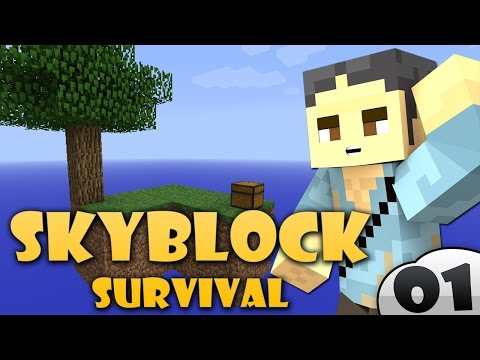 MINECRAFT: SKYBLOCK SURVIVAL - COBBLESTONE GENERATOR #1