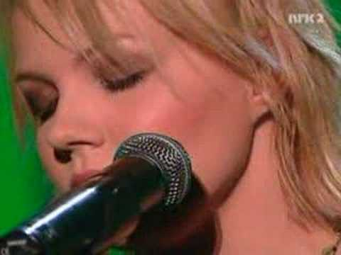 Lene Marlin - Hope You're Happy [Live on NRK2]