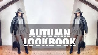 AUTUMN LOOKBOOK | STYLING BLACK BOOTS