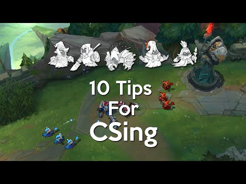 10 Tips for CSing (Mid Lane)