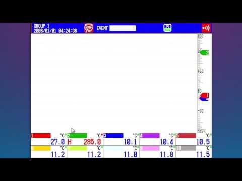 Yokogawa MVAdvanced Mobile Recorder Basic Configuration