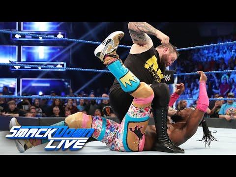 Kevin Owens assaults Kofi Kingston & Xavier Woods: SmackDown LIVE, April 23, 2019