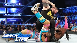 Kevin Owens assaults Kofi Kingston & Xavier Woods: SmackDown LIVE, April 23, 2019