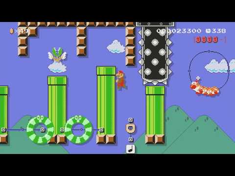 SUPER MARIO MIX 8-2 by つきこ - Super Mario Maker - No Commentary