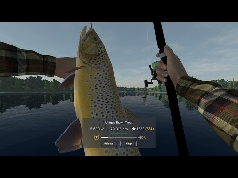 LIVE | Fishing Planet - Find Unique Brown Trout in Michigan