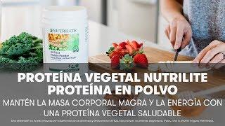 La Proteína Vegetal en Polvo Nutrilite de Amway | Amway