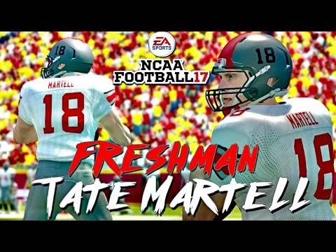 NCAA Football 14 | 2017 - 2018 150 Freshman Top Recruits | TATE MARTELL vs. SAM DARNOLD
