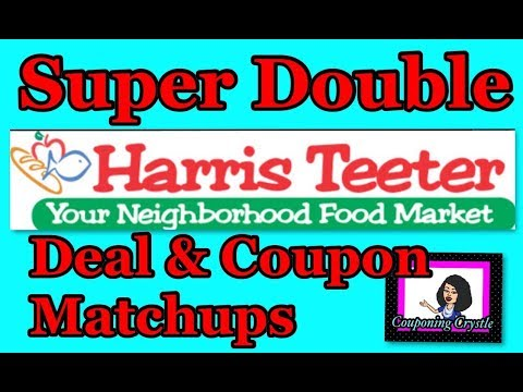 Harris Teeter Super Double Deals and Coupon Match Ups Couponing Crystle
