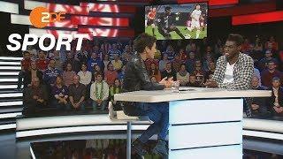 "Danny da Costa: ""Kämpfen kommt gut an"" | das aktuelle sportstudio - ZDF"
