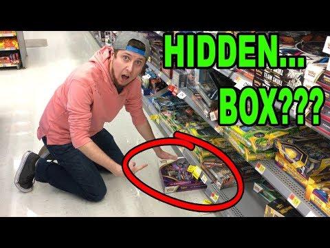 SHINING LEGENDS BOX FIND UNDER THE SHELF | HIDDEN POKEMON CARDS PACKS #38