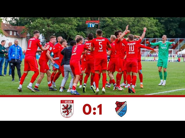 FC Gießen - TSV Steinbach Haiger 0:1 (Mittelhessen-Derby, Regionalliga Südwest 2019/20)