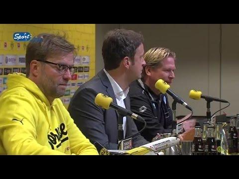 Pressekonferenz nach Borussia Dortmund - TSG 1899 Hoffenheim 1:0