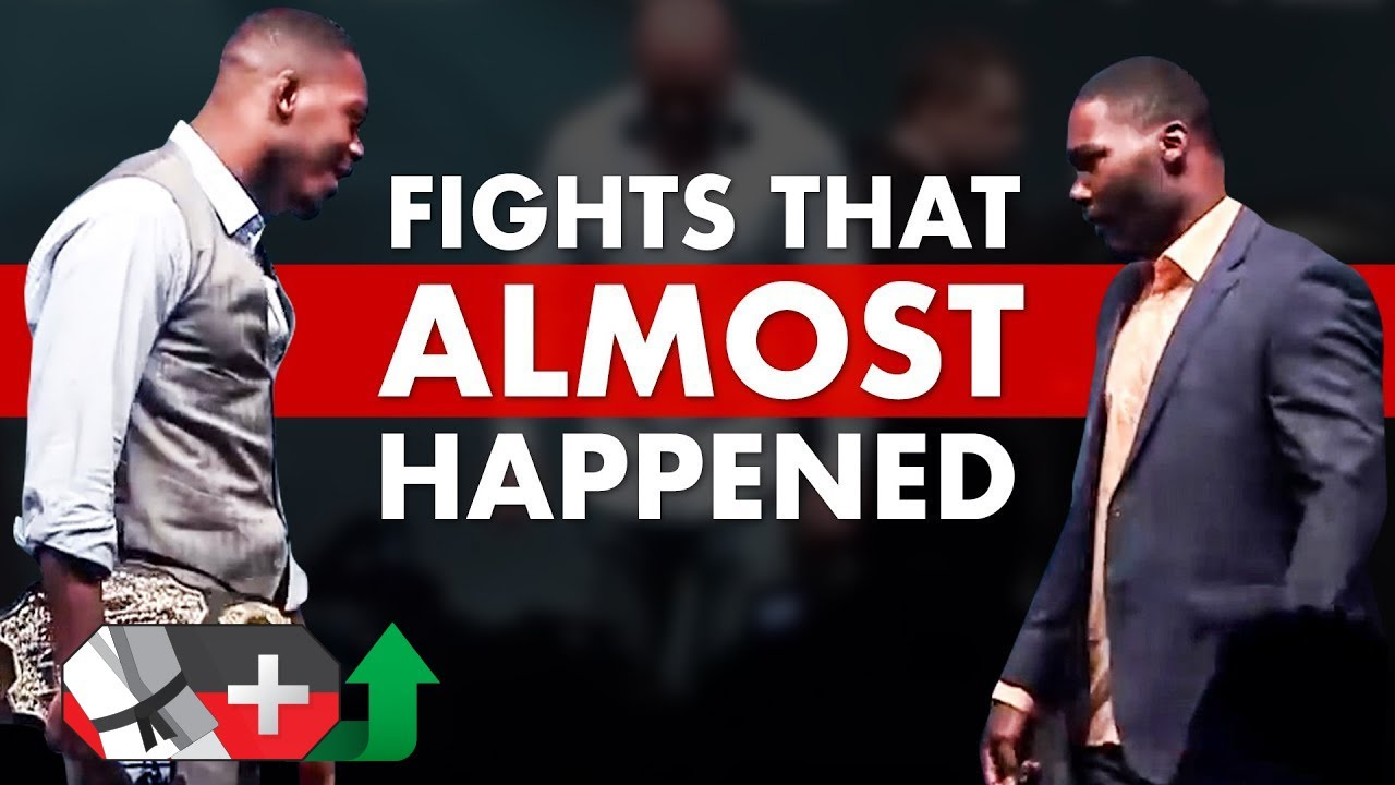 10 Incredible MMA Fights That ALMOST Happened