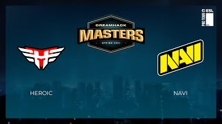 Heroic vs NaVi | Highlights | DreamHack Masters Spring 2021