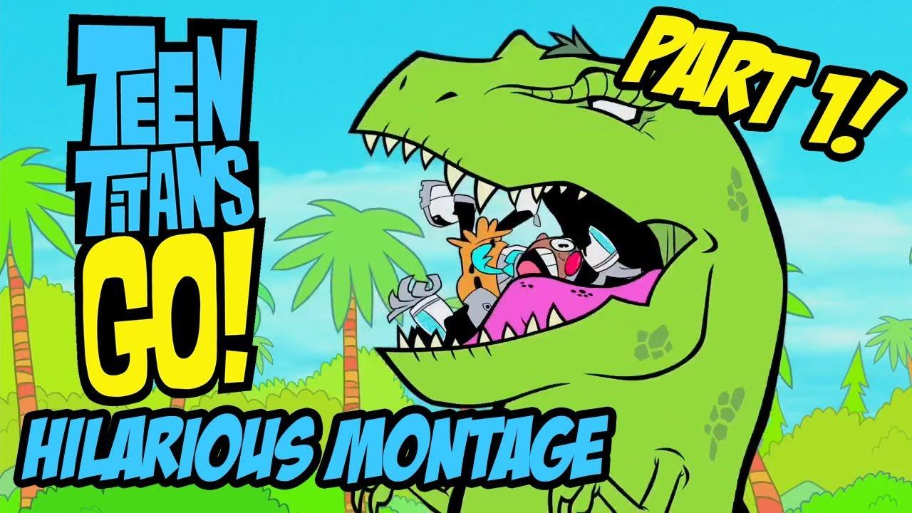 Teen Titans Go - Hilarious Montage Part 1 - Youtube-5943