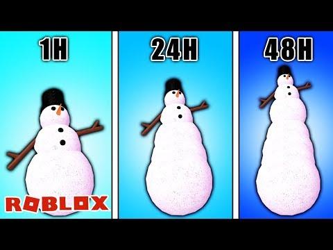 Roblox: 48 STUNDEN SCHNEEMANN BAUEN CHALLENGE MIT KAAN! [Snowman Simulator]