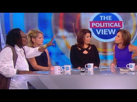 Whoopi Goldberg and Jeanine Pirro in Screaming Match Backstage at 'The View'