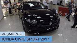 LANÇAMENTO - HONDA CIVIC 2.0 SPORT 2017 MANUAL