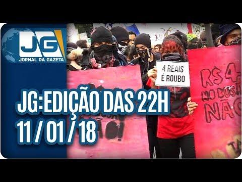 Jornal da Gazeta - Edição das 10 - 11/01/2017