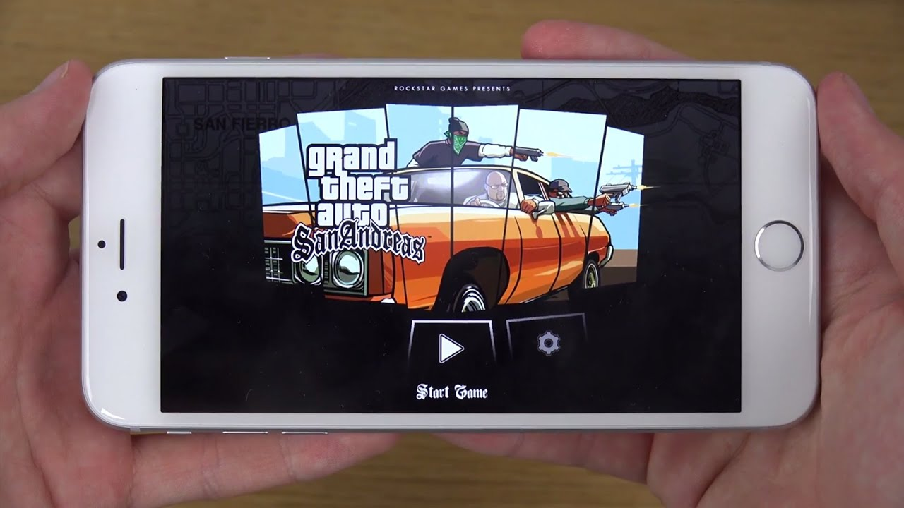 iphone 6 gta san andreas