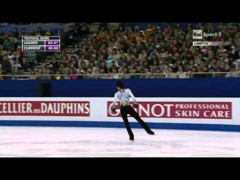 2015 Figure Skating World Champs Shanghai - men - FP - Yuzuru HANYU