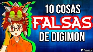 10 Cosas Falsas de Digimon