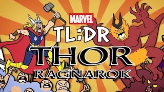What is Thor Ragnarok? - Marvel TL;DR