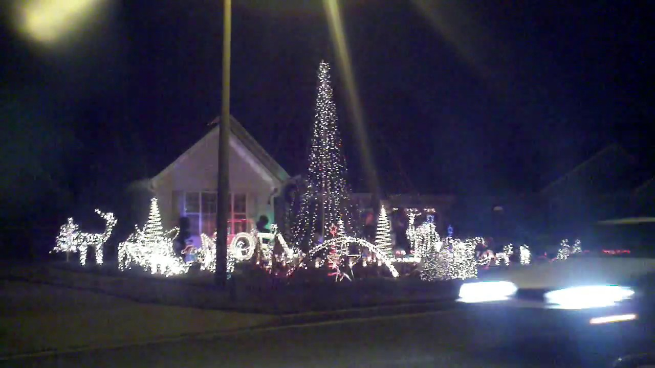 extreme christmas light newport news va
